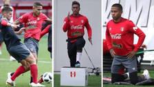 La Selección Peruana volvió a entrenar tras la derrota ante Dinamarca