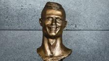 Reemplazaron el polémico busto de Cristiano Ronaldo en Madeira