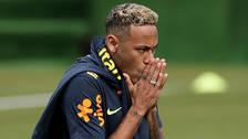 Neymar dejó los entrenamientos y prende las alarmas en la Selección de Brasil