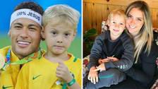El tierno mensaje del hijo de Neymar para animarlo en el Mundial