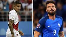Olivier Giroud comparó a la Selección Peruana con Colombia