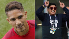 Maradona habló sobre la suplencia de Paolo Guerrero en la Selección Peruana