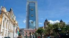 Evo Morales estrenará una casa de gobierno de 120 metros de altura