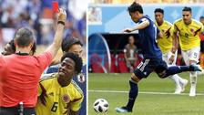 Kagawa silenció a los colombianos con un gol a los tres minutos