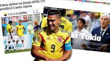 Así reaccionó la prensa mundial tras la derrota de Colombia en Rusia 2018