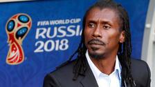 El singular 'look rasta' del entrenador de Senegal