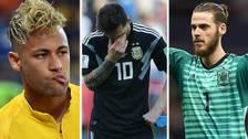 Los jugadores que han decepcionado en su debut en el Mundial Rusia 2018