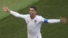 Delantero argentino alentó a Cristiano Ronaldo en Rusia 2018