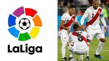 Liga española envió mensaje de apoyo para la Selección Peruana