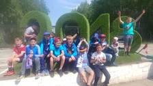 Niños rusos alentaron a la Selección Peruana en Ekaterimburgo
