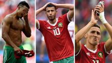 Las lágrimas de los jugadores de Marruecos tras ser eliminados del Mundial