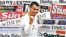 La prensa mundial elogió a Cristiano Ronaldo tras el triunfo de Portugal