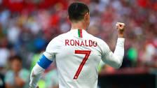 Cristiano Ronaldo estrenó nuevo look en el Mundial Rusia 2018