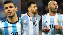 Fotos | La posible alineación de Argentina para enfrentar a Croacia
