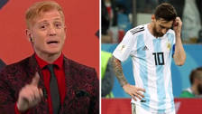 Martin Liberman criticó a Lionel Messi tras la derrota de Argentina