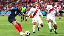 Kylian Mbappé le marcó histórico gol a la Selección Peruana en Rusia 2018