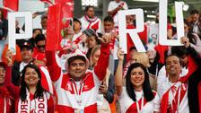 L'Equipe elogió el apoyo de la hinchada de Perú en Rusia 2018
