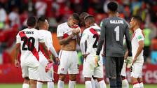 Guerrero y sus compañeros lloraron tras la eliminación de Perú en Rusia 2018