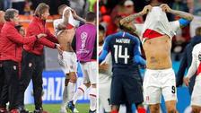 10 fotos del lamento de Paolo Guerrero tras la eliminación en Rusia 2018