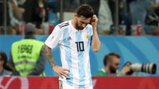 ¿Qué hizo Lionel Messi tras la goleada que sufrió Argentina?