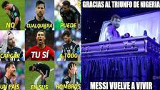 Lionel Messi es víctima de memes por el mal momento de Argentina