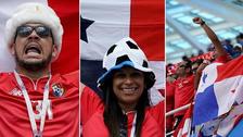 Panamá: así celebraron sus hinchas el histórico gol de Baloy en Rusia 2018