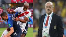 Vicente del Bosque elogió el juego de la Selección Peruana