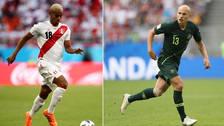 El podio de los jugadores más valiosos de la Selección Peruana y Australia