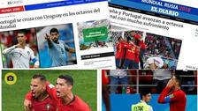 Así informó la prensa mundial tras clasificación de Portugal en Rusia 2018