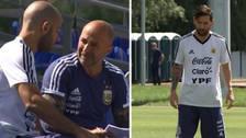 Mascherano y Sampaoli armaron el equipo de Argentina que enfrentará a Nigeria