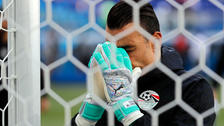 El Hadary se convirtió en el jugador más longevo en disputar un Mundial