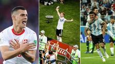 Los mejores festejos en el Mundial Rusia 2018