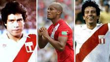 André Carrillo y los otros autores del primer gol peruano en los Mundiales