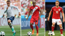 Carrillo y Guerrero integran el once ideal del Grupo C en Rusia 2018