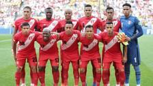 El podio de la Selección Peruana en el Mundial Rusia 2018