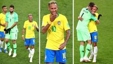 La alegría de Brasil al clasificar a los octavos de final del Mundial