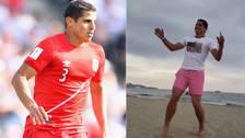 Aldo Corzo se lució con divertido baile en vacaciones en Ibiza