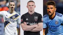 Las estrellas que jugarán en la MLS en esta temporada