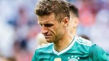 Thomas Müller, el único que rompió en llanto en la Selección de Alemania