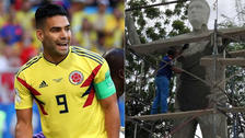 En Colombia construyen una estatua en honor a Radamel Falcao