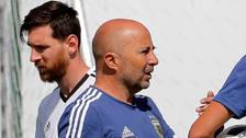 Sampaoli explicó el video viral de su charla con Messi