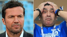 Lothar Matthaus: Diego Maradona debería dejarse de tonterías