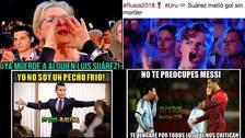 Los memes del Uruguay vs Portugal por octavos de final en Rusia 2018