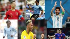 Las figuras de las selecciones clasificadas a octavos de final de Rusia 2018