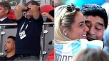El show de Maradona en la eliminación de Argentina en Rusia 2018