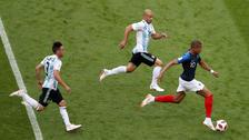 La gran corrida de Mbappé que dejó en ridículo a los defensas argentinos