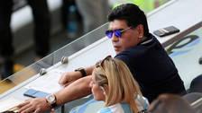 Así reaccionó Diego Maradona tras el gol de Griezmann
