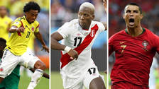 Los jugadores más rápidos en la fase de grupos del Mundial Rusia 2018