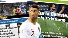 Así reaccionó la prensa mundial tras la eliminación de Cristiano en Rusia 2018