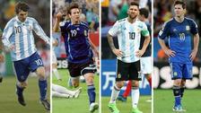 Messi y su estadística negativa en los cuatro Mundiales que disputó